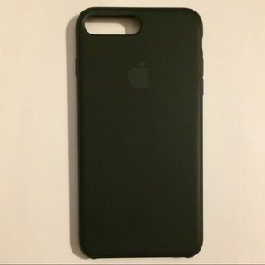 Black silicone Apple cover for iPhone 6+, 7+, 8+